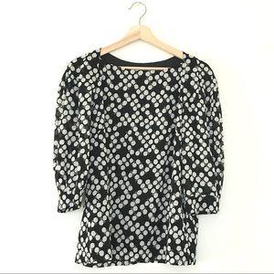 [TRINA TURK] Black & white blouse